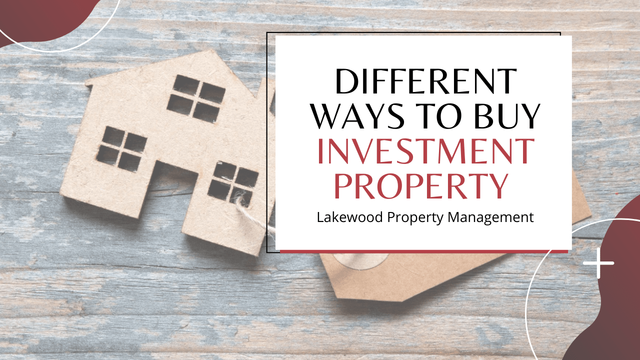Different Ways to Buy Investment Property - Article Banner