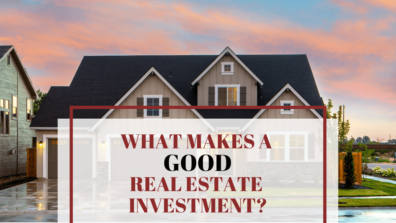 What Makes a Good Real Estate Investment in Lakewood, CO? - Article Banner